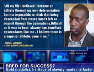 Black people are superior athletes