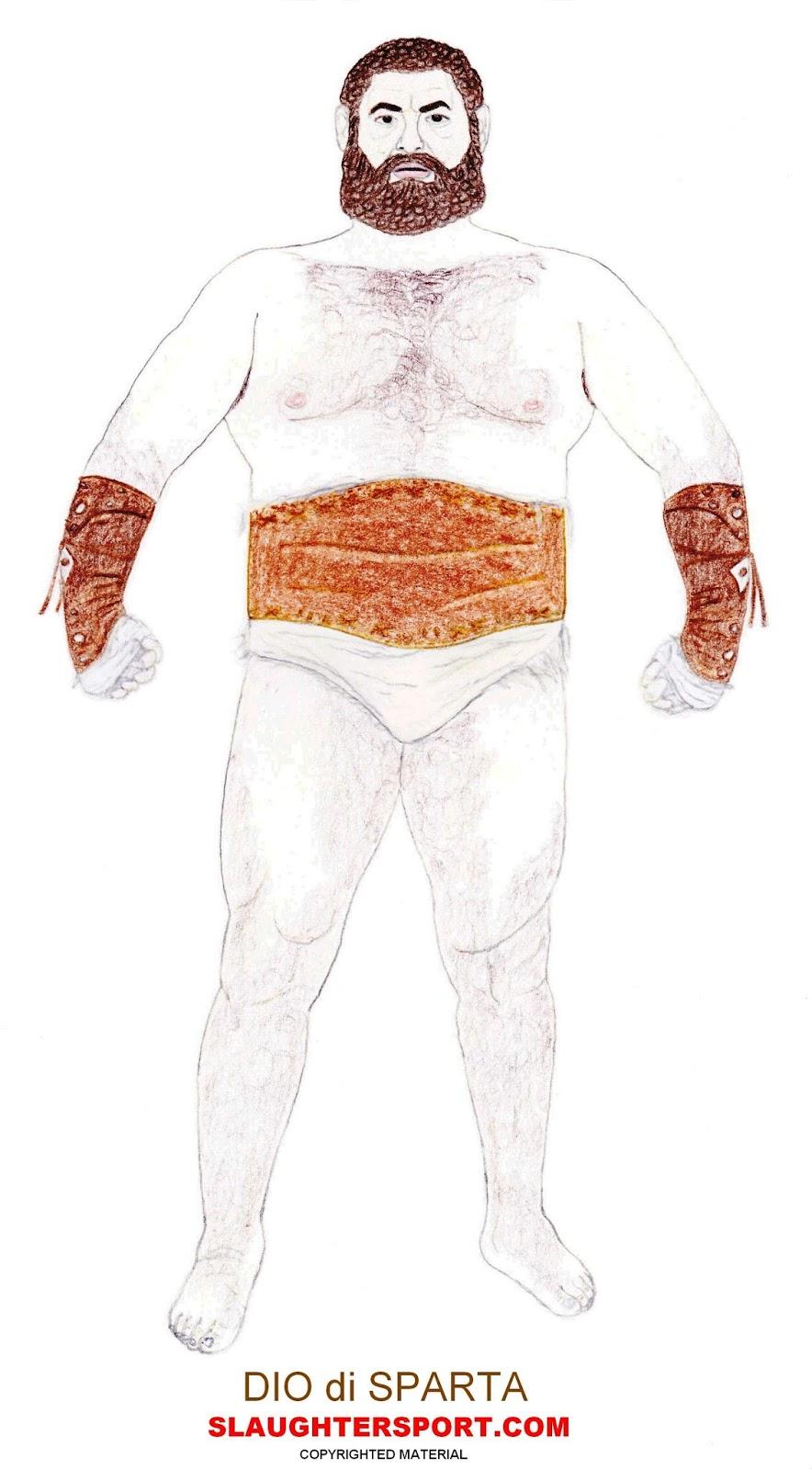 DIO di SPARTA Greek Pankration Roman Gladiator