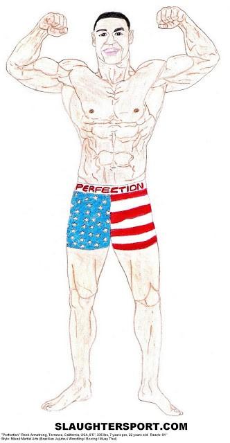 "Santos Dixon early career as ""Perfection"" Rock Armstrong"