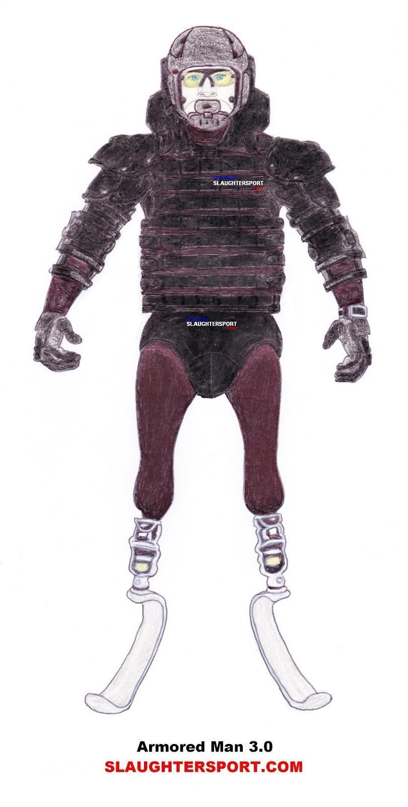 Armored Man 3.0 SLAUGHTERSPORT.COM