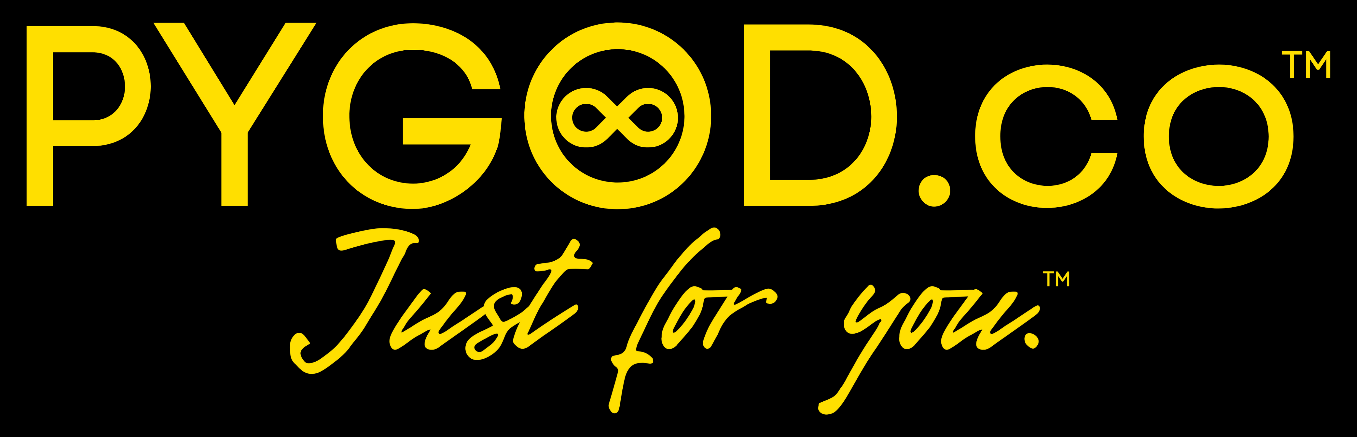 PYGOD.co™ Just for you.™